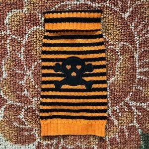 Striped Halloween 🎃 Dog Sweater